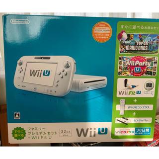 Wii U - wiiU 本体(ファミリープレミアムセット+wii fit U