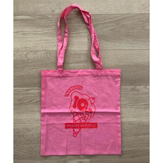 レピピアルマリオ(repipi armario)のレピピアルマリオ トートバッグ エコバッグ  ピンク(トートバッグ)