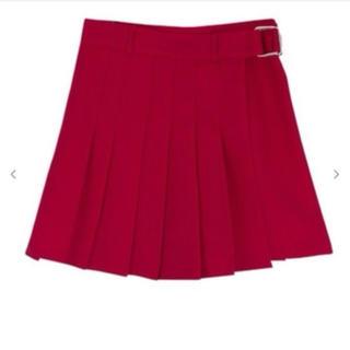 ミックスエックスミックス(mixxmix)のアンバランスプリーツスカート プリーツスカート Mサイズ(ミニスカート)