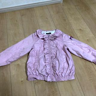 BeBe - ウィンドウブレーカー ジャンパー  BeBe女子用 ピンクパープル 130㎝美品