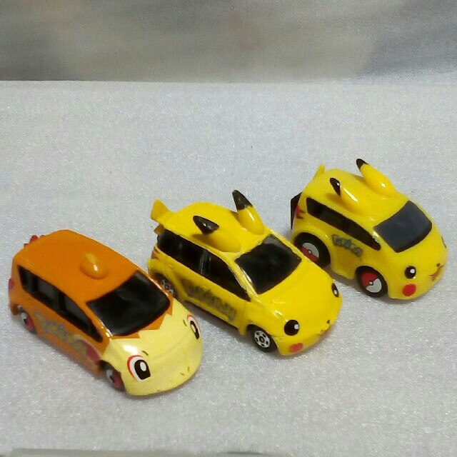 TOMMY(トミー)のトミカ & チョロQ ポケットモンスター セット エンタメ/ホビーのおもちゃ/ぬいぐるみ(ミニカー)の商品写真