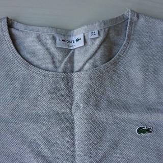 ラコステ(LACOSTE)のLACOSTE メンズMサイズ 鹿の子素材(Tシャツ/カットソー(七分/長袖))