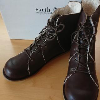 earth  ショートブーツ
