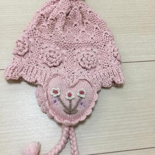 スーリー(Souris)のスーリーニット帽子☆お値下げしました☆(帽子)