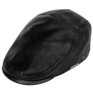 レザー ハンチング帽子