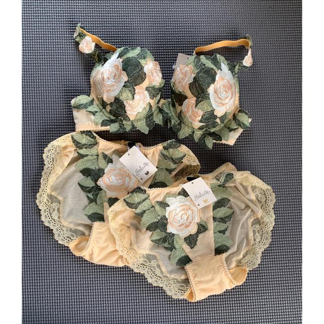 Wacoal(ワコール)のサルート ブラ&ショーツセット レディースの下着/アンダーウェア(ブラ&ショーツセット)の商品写真