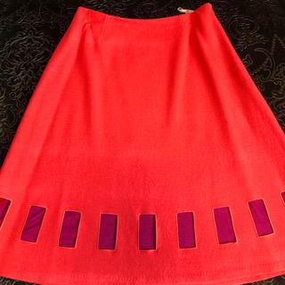 シビラ(Sybilla)のS ybilla☆ウールスカート (ひざ丈スカート)