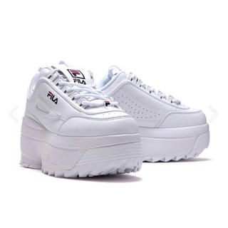 FILA - FILA DISRUPTOR2 WEDGE 厚底スニーカー