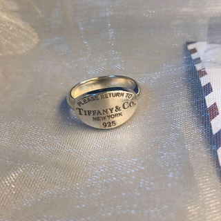 Tiffany & Co. - ティファニー リング リターン トゥ オーバル