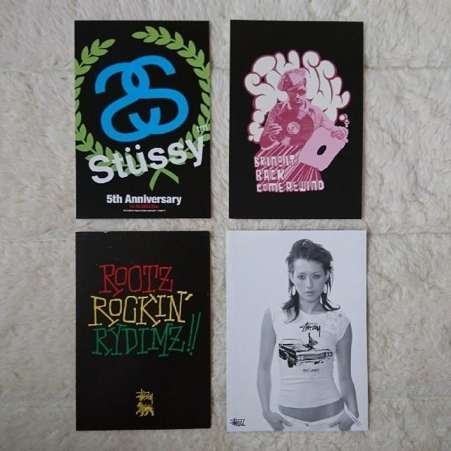 STUSSY(ステューシー)のstussy ポストカード エンタメ/ホビーのコレクション(印刷物)の商品写真