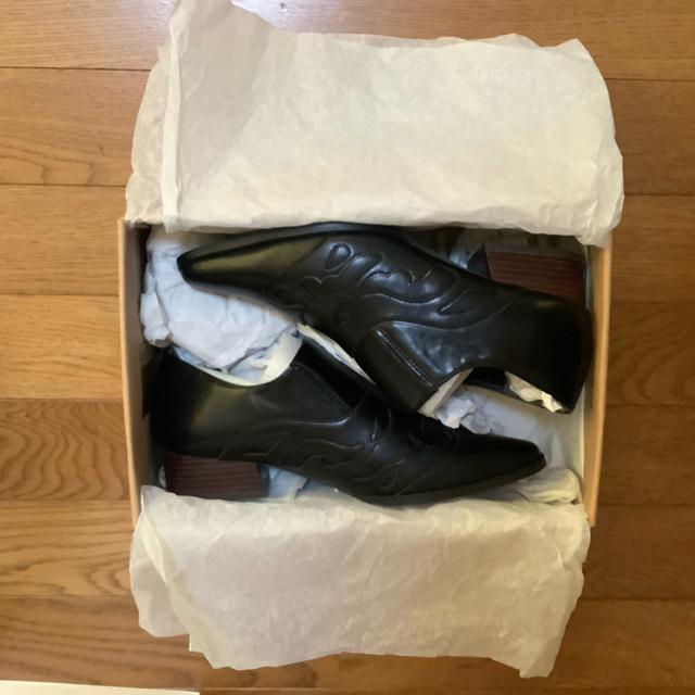 Ungrid(アングリッド)のUngrid ウエスタンフラットシューズ レディースの靴/シューズ(ローファー/革靴)の商品写真