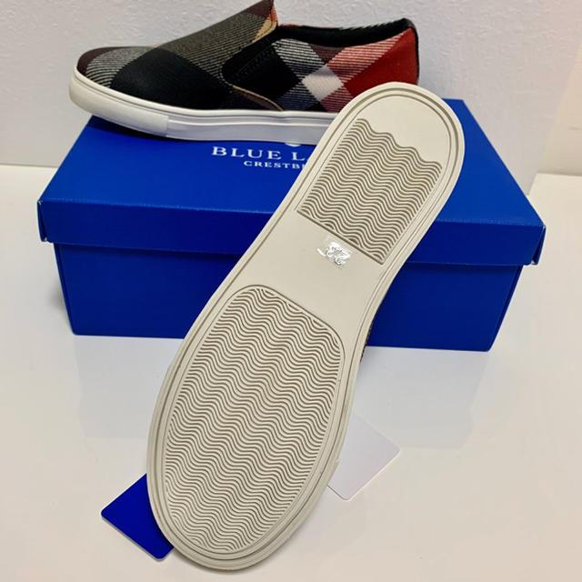 BURBERRY BLUE LABEL(バーバリーブルーレーベル)のBLUE LABEL ブルーレーベル  PVCスニーカー 23㎝ レディースの靴/シューズ(スニーカー)の商品写真