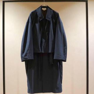 サンシー(SUNSEA)のYOKE tokyo 3WAY BAL COLLAR SHARE COAT(ステンカラーコート)