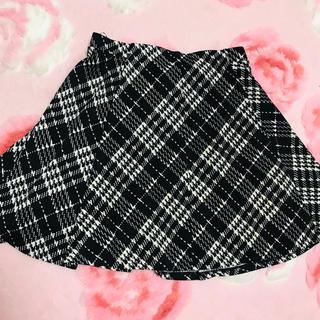 ユメテンボウ(夢展望)の夢展望 チェックのスカート 未使用(ひざ丈スカート)