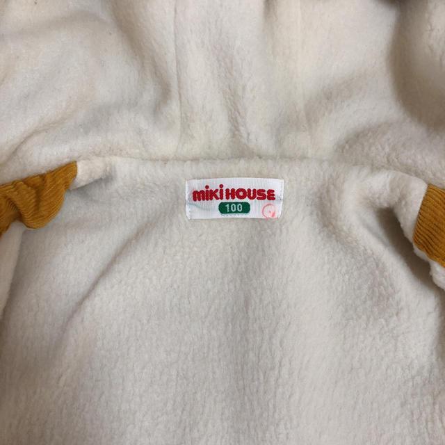 mikihouse(ミキハウス)のミキハウス コーデュロイ ジャンパー 100 キッズ/ベビー/マタニティのキッズ服男の子用(90cm~)(ジャケット/上着)の商品写真