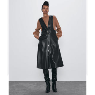 ZARA - 新品未使用品⭐︎ザラ ワンピース ジャンパー スカート