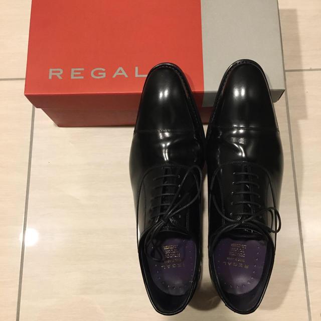 REGAL(リーガル)のREGAL 25ARBE ストレートチップ(スクラッチタフレザー) メンズの靴/シューズ(ドレス/ビジネス)の商品写真
