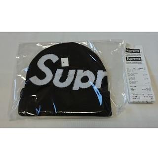 Supreme - supreme biglogo beanie 19fw black 黒新品未使用