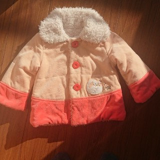 Petit jam - リバーシブル コート ジャケット 100センチ