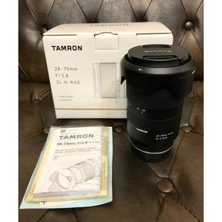 TAMRON - タムロン 28-75mm F2.8 Di III ソニー Eマウント用