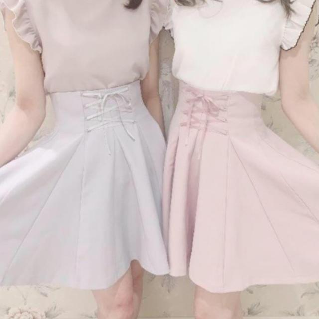 evelyn(エブリン)のevelyn スカート レディースのスカート(ひざ丈スカート)の商品写真
