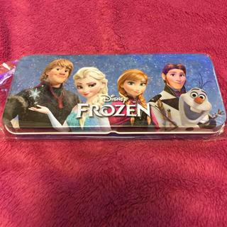 アナと雪の女王 缶ペンケース