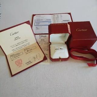 カルティエ(Cartier)の【極美品!!】0.52ctCartierカルティエソリテールリング7号サイズ47(リング(指輪))