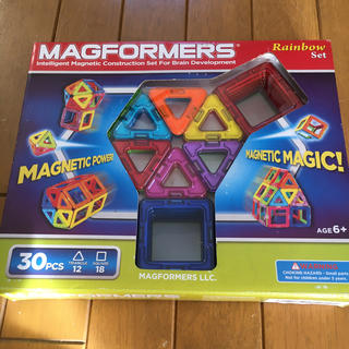 マグフォーマー  30ピース レインボーセット(知育玩具)