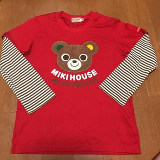 mikihouse - ミキハウスの長袖シャツです。