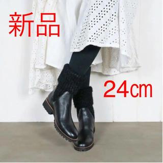 ユナイテッドアローズ(UNITED ARROWS)のソックスブーツ ニットブーツ 新品(ブーツ)