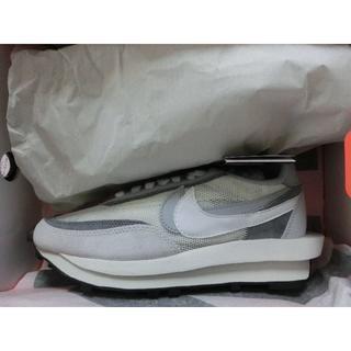 ナイキ(NIKE)の送料込み 24.5cm Nike Sacai LDWaffle WHITE 白(スニーカー)