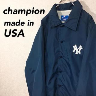 チャンピオン(Champion)のUSA製 チャンピオン 90's ナイロンジャケット ニューヨークヤンキース(ナイロンジャケット)