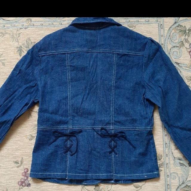 CROWN BANBY(クラウンバンビ)のCROWN  BANBY Gジャン キッズ/ベビー/マタニティのキッズ服女の子用(90cm~)(ジャケット/上着)の商品写真
