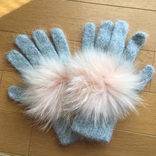バーニーズニューヨーク(BARNEYS NEW YORK)のファー 手袋(手袋)