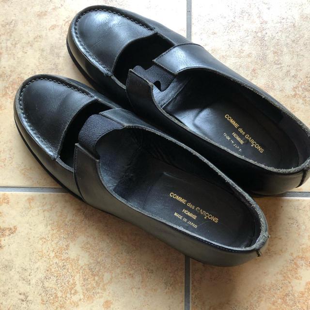 COMME des GARCONS(コムデギャルソン)のコムデギャルソンオム 革靴 メンズの靴/シューズ(ドレス/ビジネス)の商品写真