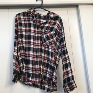 ヘザー(heather)のHeatherチェックシャツ(シャツ/ブラウス(長袖/七分))