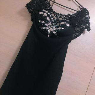 dazzy store - Riage♡ビジューミニドレス