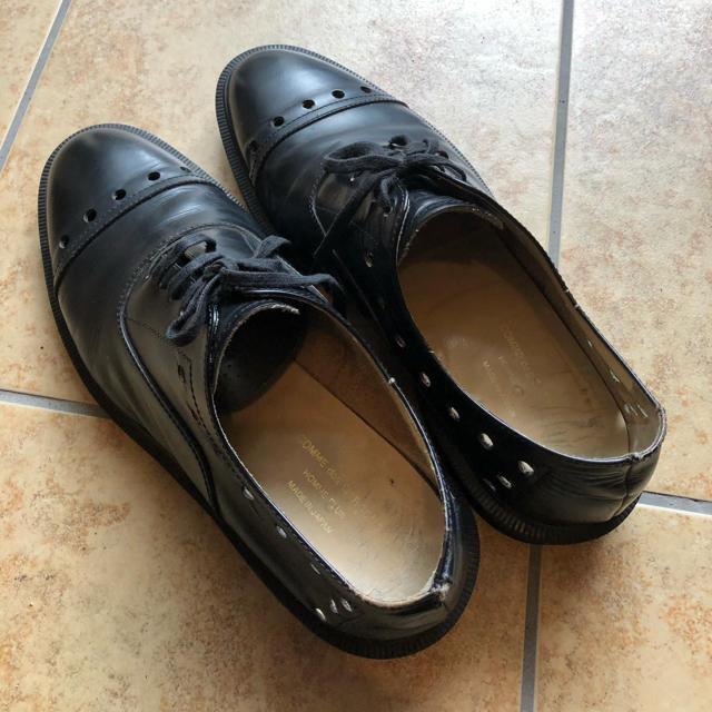 COMME des GARCONS HOMME PLUS(コムデギャルソンオムプリュス)のコムデギャルソンオム プリュス 革靴 メンズの靴/シューズ(ドレス/ビジネス)の商品写真