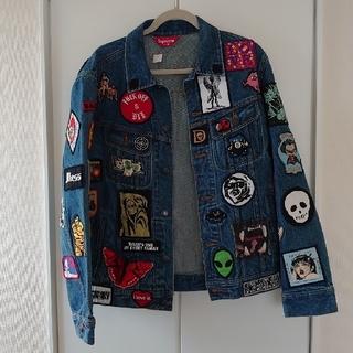 Supreme - Patches Denim Trucker Jacket