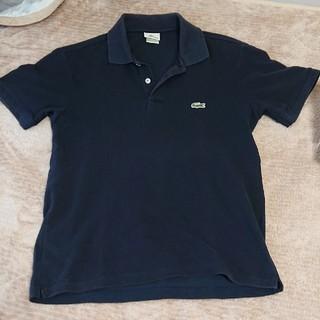 ラコステ(LACOSTE)のラコステ ポロシャツ ネイビー サイズ3(ポロシャツ)