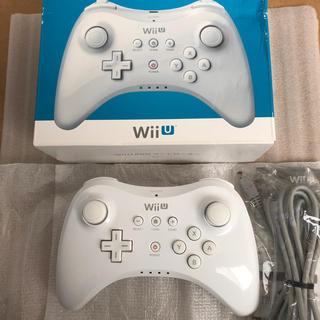 Wii U - wiiU プロコントローラー(任天堂純正品)