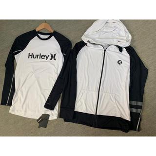 Hurley - Hurley パーカー&ラッシュガード UPF50+  1点未使用タグ付