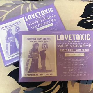 ラブトキシック(lovetoxic)のポーチ2個 ミッキー時計2個(ポーチ)