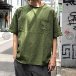 レイジブルー(RAGEBLUE)の送料込み!RAGEBLUE ビッグTシャツ グリーン M 新品(Tシャツ/カットソー(半袖/袖なし))