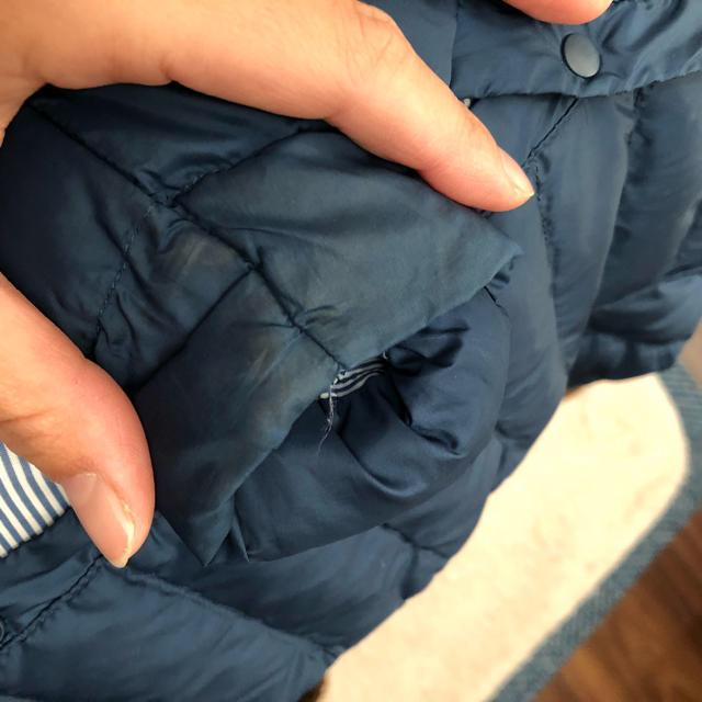 UNIQLO(ユニクロ)のUNIQLO ウルトラライトダウン120cm キッズ/ベビー/マタニティのキッズ服女の子用(90cm~)(ジャケット/上着)の商品写真