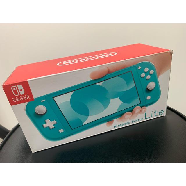 Nintendo Switch(ニンテンドースイッチ)のニンテンドースイッチ ライト エンタメ/ホビーのゲームソフト/ゲーム機本体(携帯用ゲーム機本体)の商品写真