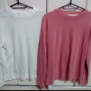 コンバース(CONVERSE)のコンバース converse 限定ロンT セット(Tシャツ/カットソー(七分/長袖))