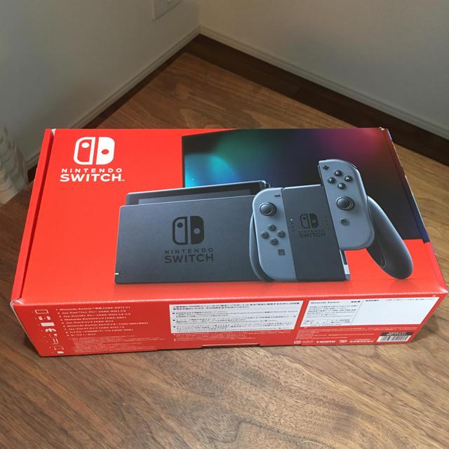 任天堂(ニンテンドウ)の「Nintendo Switch Joy-Con(L)/(R) グレー」 エンタメ/ホビーのゲームソフト/ゲーム機本体(家庭用ゲーム機本体)の商品写真
