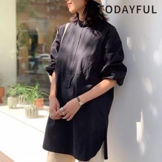 TODAYFUL - todayful ヴィンテージドレスシャツ ブラック