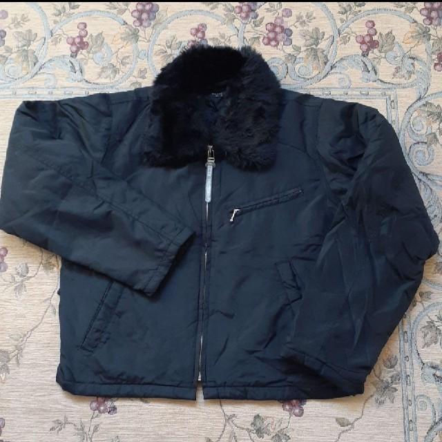 ファーの付いたブルゾン レディースのジャケット/アウター(ブルゾン)の商品写真